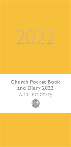 Church Pocket Book and Diary 2022, Yellow (Hard Cover)