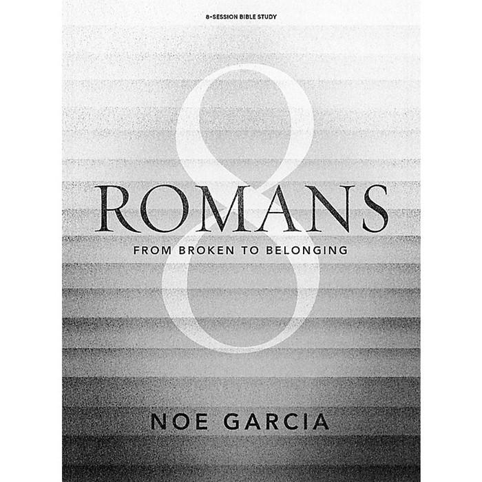 Romans 8 Bible Study Book (Paperback)