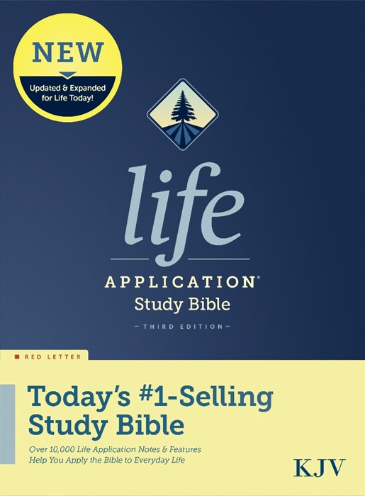 KJV Life Application Study Bible, Third Edition, Red Letter (Hard Cover)