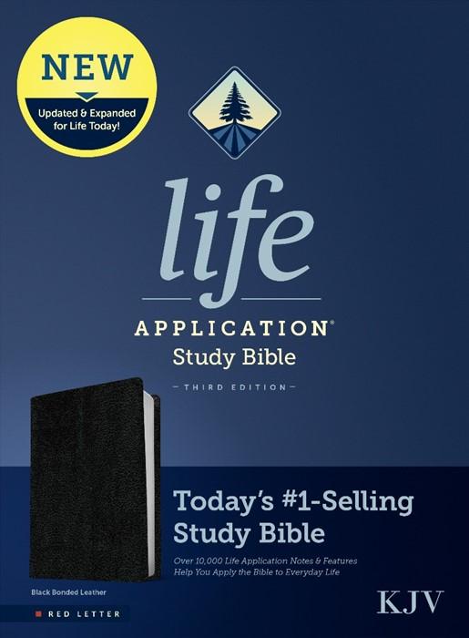 KJV Life Application Study Bible, Third Edition, Black (Imitation Leather)