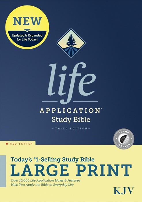KJV Life Application Study Bible, Third Edition, Large Print (Hard Cover)