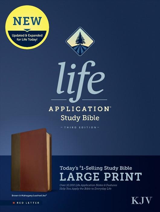 KJV Life Application Study Bible, Third Edition, Large Print (Imitation Leather)