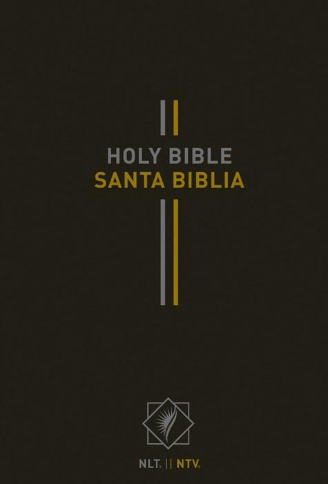Bilingual Bible / Biblia bilingüe NLT/NTV (Hardcover, Black) (Hard Cover)