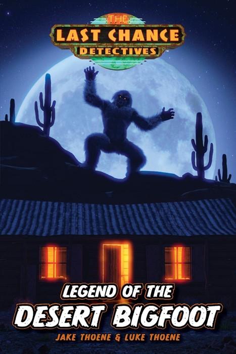 Legend of the Desert Bigfoot (Paperback)