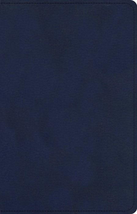 CSB Single-Column Compact Bible, Navy (Imitation Leather)