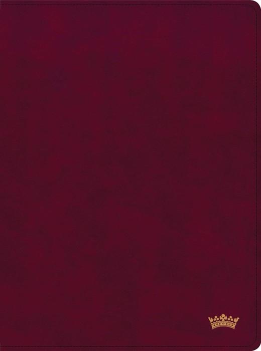 CSB Tony Evans Study Bible, Burgundy LeatherTouch Indexed (Imitation Leather)