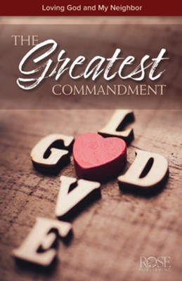 The Greatest Commandment (pack of 5) (Pamphlet)
