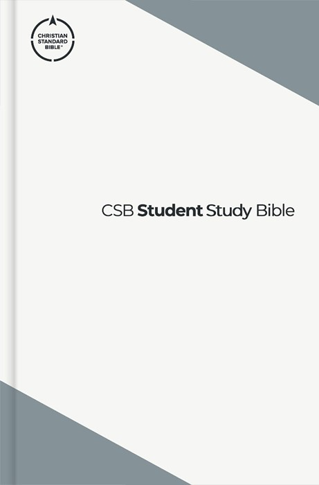 CSB Student Study Bible, Slate Hardcover (Hard Cover)