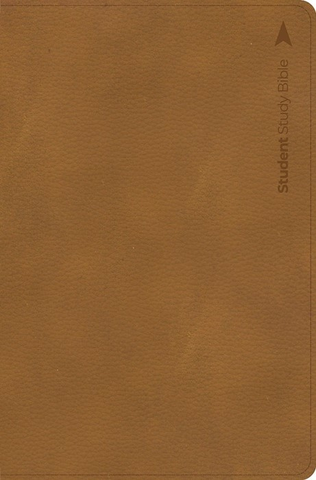CSB Student Study Bible, Ginger Leathertouch (Imitation Leather)