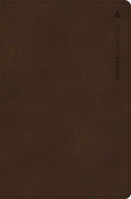 CSB Student Study Bible, Brown Leathertouch Indexed (Imitation Leather)