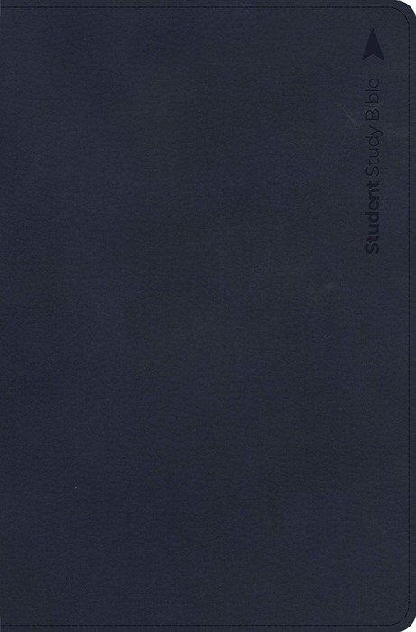 CSB Student Study Bible, Navy Leathertouch Indexed (Imitation Leather)