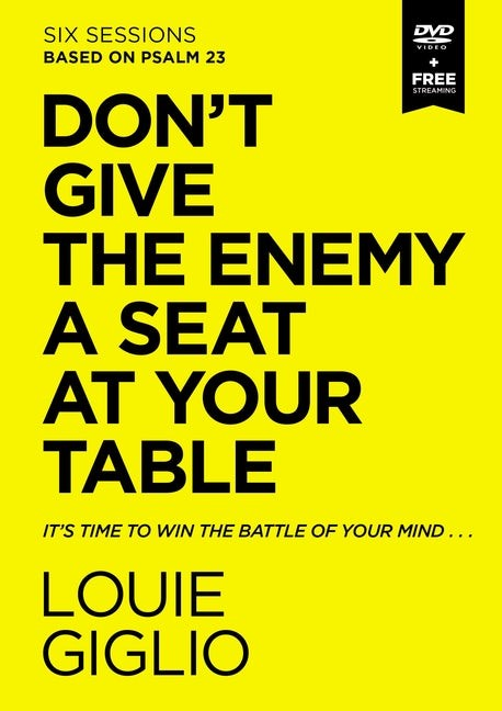Don't Give the Enemy a Seat at Your Table Video Study (DVD)