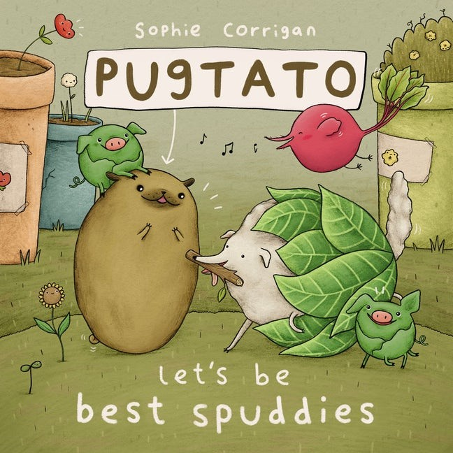 Pugtato, Let's Be Best Spuddies (Board Book)