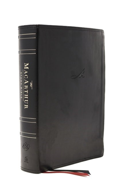 ESV MacArthur Study Bible, 2nd Edition, Black (Imitation Leather)