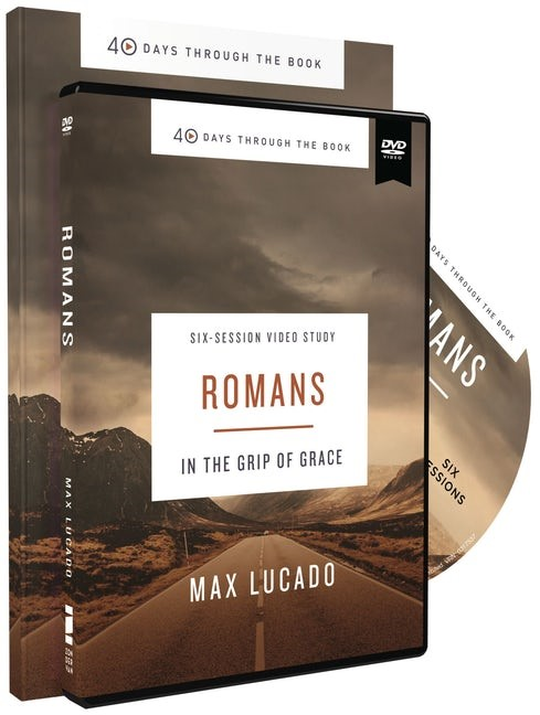 Romans Study Guide with DVD (Paperback w/DVD)