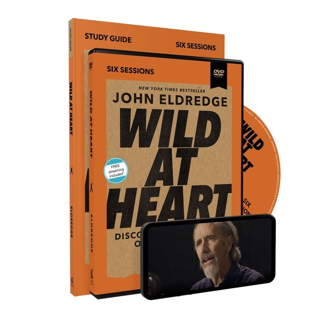 Wild at Heart Study Guide with DVD (Paperback w/DVD)