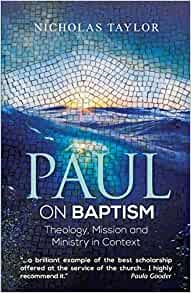 Paul on Baptism (Paperback)