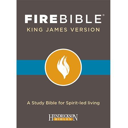 KJV Fire Bible, Black Bonded Leather (Bonded Leather)