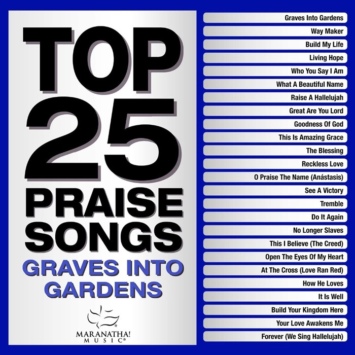 Top 25 Praise Songs: Graves into Gardens 2CD (CD-Audio)