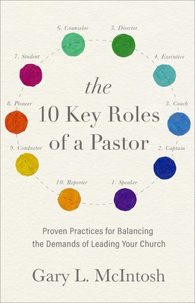 The 10 Key Roles of a Pastor (Paperback)