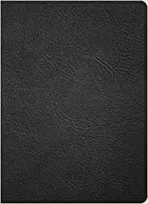 CSB Study Bible, Holman Handcrafted Collection, Premium Blac (Imitation Leather)