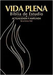 Vida Plena Biblia de Estudio - Actualizada Y Ampliada (Bonded Leather)