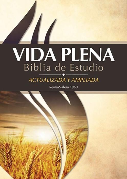Biblia de Estudio Vida Plena – Tapa Dura con Indice (Hard Cover)