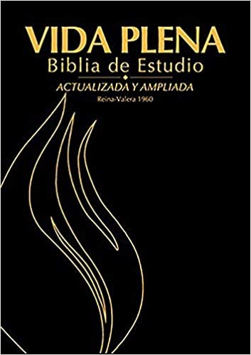 Biblia de Estudio Vida Plena - Con Índice (Bonded Leather)