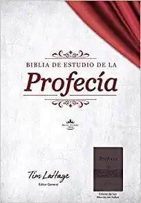 Biblia de Estudio de la Profecía, Marrón con Índice (Imitation Leather)