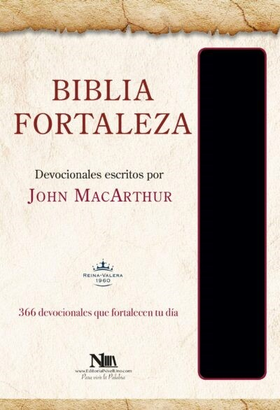 Biblia Fortaleza, Negro (Imitation Leather)
