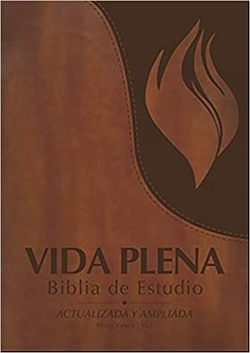 Vida Plena Biblia de Estudio, Flex Cover con Indice, Marrón (Imitation Leather)