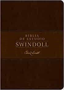 Biblia de estudio Swindoll NTV, SentiPiel, Café/Café claro (Imitation Leather)