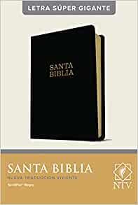 Santa Biblia NTV, Letra Súper Gigante, Letra Roja, SentiPiel (Imitation Leather)
