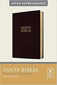 Santa Biblia NTV, Letra Súper Gigante, Letra Roja, Tapa dura (Hard Cover)