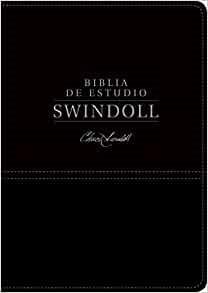Biblia de estudio Swindoll NTV, SentiPiel, Negro, Índice (Imitation Leather)