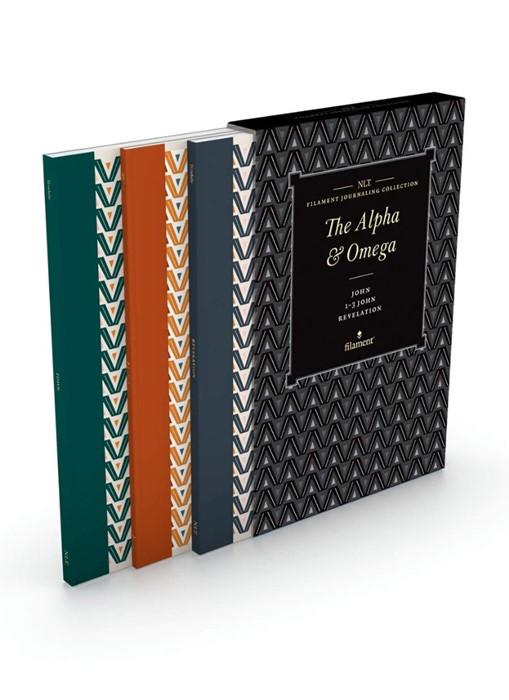 NLT Filament Journaling Collection: The Alpha and Omega Set (Paperback)