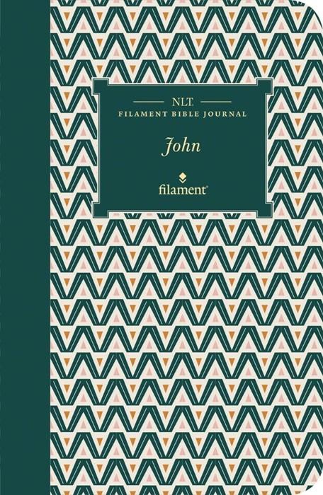 NLT Filament Bible Journal: John (Softcover) (Paperback)