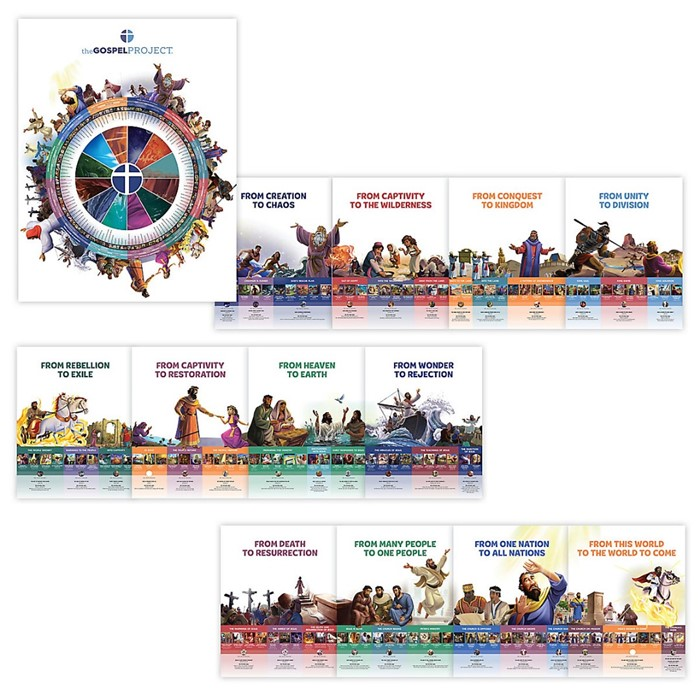 Gospel Project: Giant Timeline and Big Story Circle (Poster)