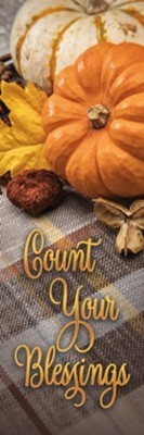 Count Your Blessings Thanksgiving Bookmark (25 pack) (Bookmark)