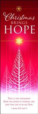 Christmas Brings Hope Bookmark (25 pack) (Bookmark)