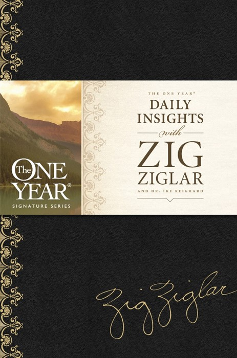 The One Year Daily Insights With Zig Ziglar (Imitation Leather)