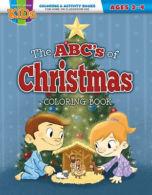 The ABC's of Christmas Coloring Activity Book (Paperback)