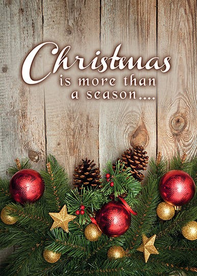 More Than a Season Boxed Christmas Cards (pack of 12) (Cards)