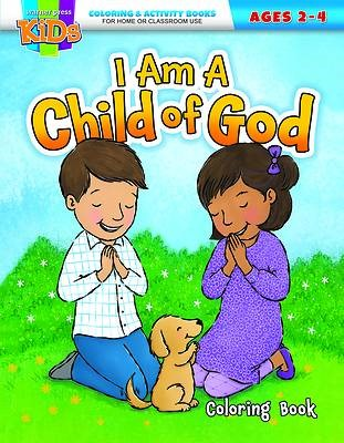 I Am a Child of God Coloring Activity Book (Paperback)