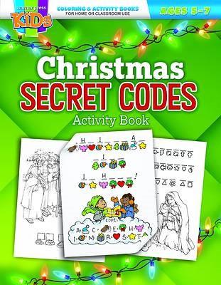 Christmas Secret Codes Coloring Activity Book (Paperback)