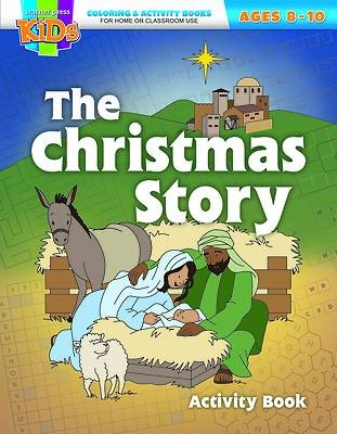 The Christmas Story Coloring Activity Book (Paperback)
