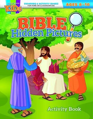 Bible Hidden Pictures Coloring Activity Book (Paperback)