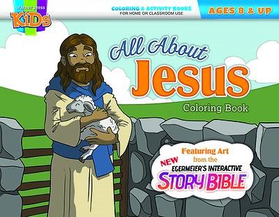 All About Jesus Coloring Book (Paperback)