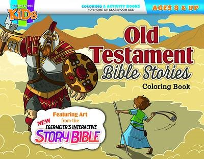 Old Testament Bible Stories Coloring Book (Paperback)