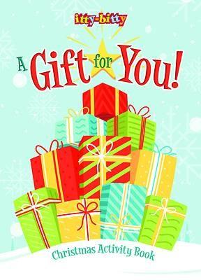 Itty Bitty A Gift for You Christmas Activity Book (Paperback)